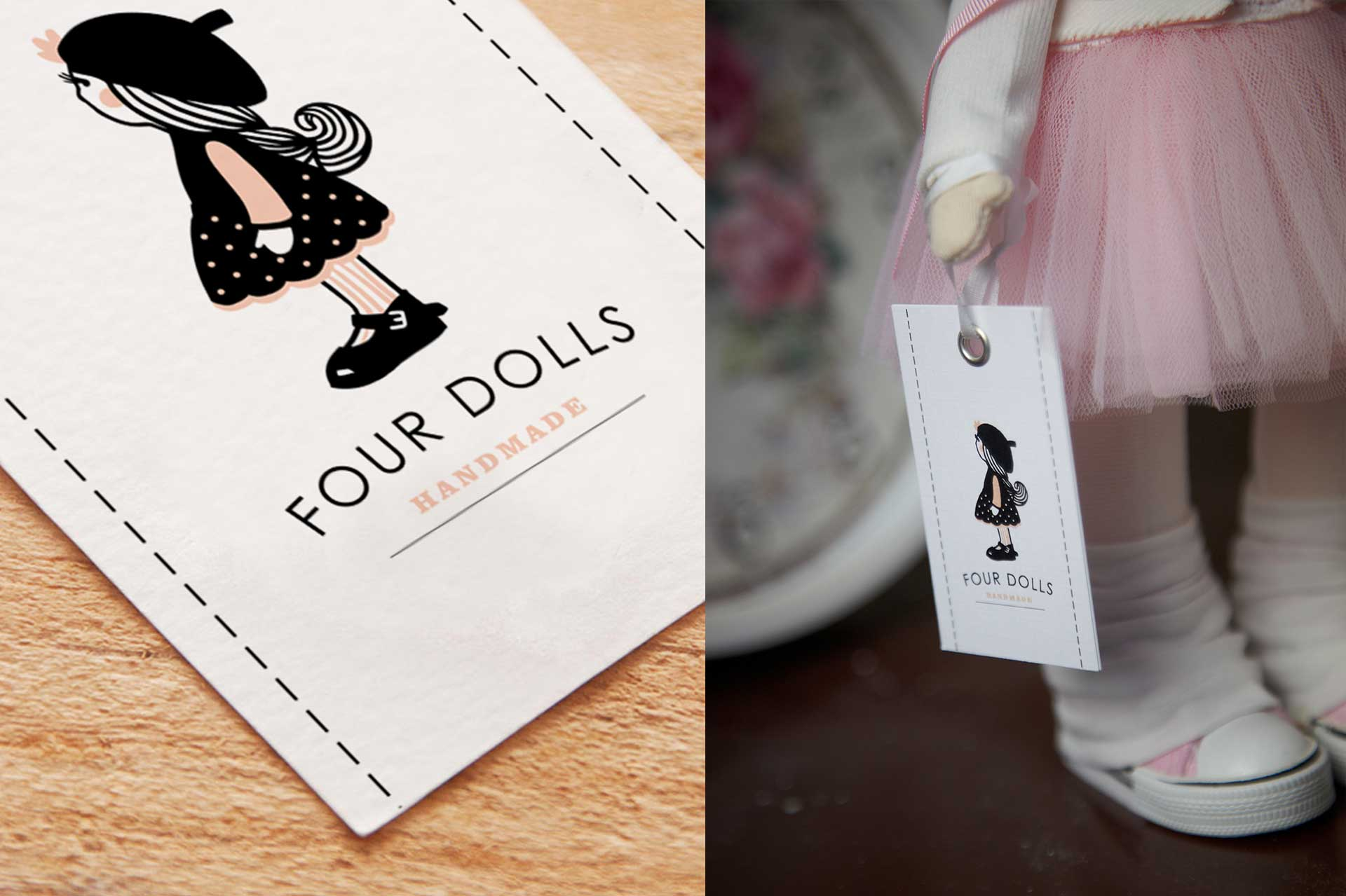 Identity Hand Made brand, Four Dolls